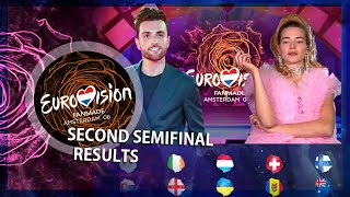 Eurovision Fanmade #6 - Semi-Final 2 - Results and Qualifiers