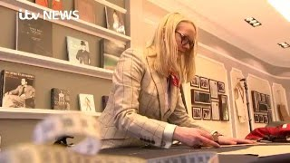 First female master tailor opens Savile Row shop