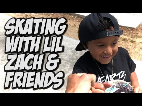SKATING WITH LIL ZACH AND FRIENDS !!! - NKA VIDS -