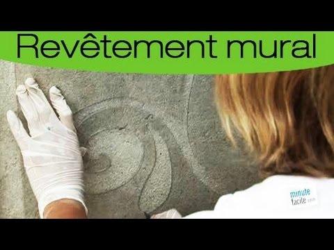 Comment faire un pochoir sur un mur ext rieur youtube - Comment mettre de la chaux sur un mur ...