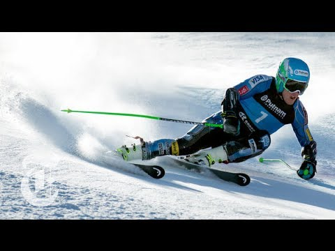 Sochi Olympics 2014 | Ted Ligety: Giant Slalom (GS) Skier s Unique Turning | The New York Times