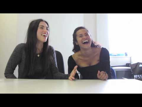 Merlin Series 5: Angel Coulby and Katie McGrath Interviewed