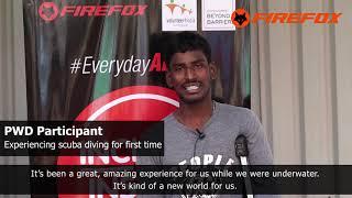 #EverydayAbility - Inclusive Scuba Diving at Chennai