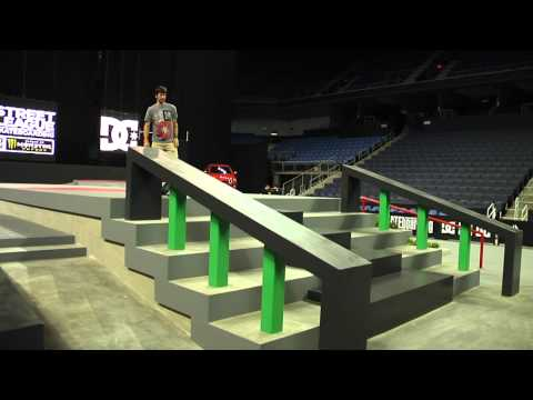Street League 2012: Stop 2 Ontario, CA First Look with Chris Cole & Shane O'neill