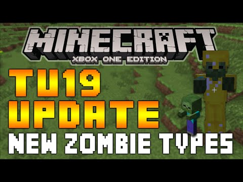 Minecraft (xbox/Playstation) - TITLE UPDATE 19 BABY ZOMBIES & ARMED ZOMBIES EXPLAINED! [TU19]