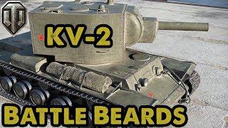 KV-2: Accurate Gun Simulator - Battle Beards - WoT Console