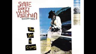 May I Have a Talk With You - Stevie Ray Vaughan - The Sky is Crying - 1991 (HD)