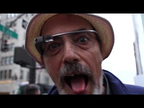 Google Glass: Foto-Legenden testen Datenbrille