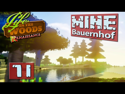 Technik die bald begeistert ► MINECRAFT Life in The Woods deutsch #71