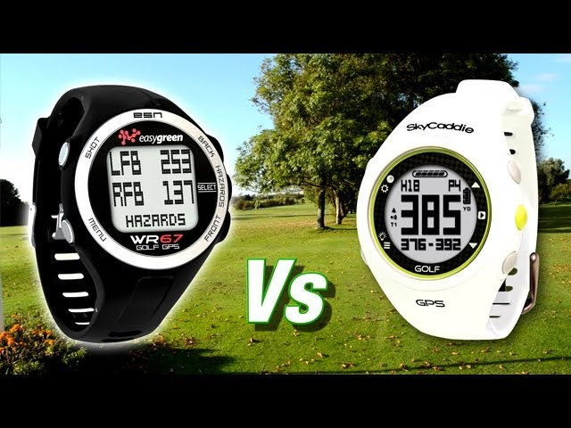 Easygreen WR67 Vs SkyCaddie - GPS golf watch review