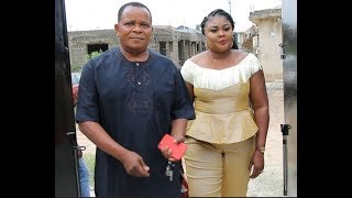 Ireti Osayemi & her husband steps in as Sola Kosoko husband usher them in to their baby naming