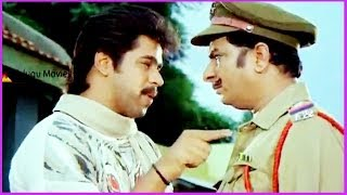 Madrasi - Arjun & Rallapalli Conversation - In Chinnari Devatha Telugu Movie