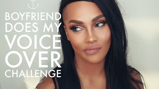 SOFT HOLIDAY GLAM BOYFRIEND DOES MY VOICEOVER CHALLENGE  | SONJDRADELUXE