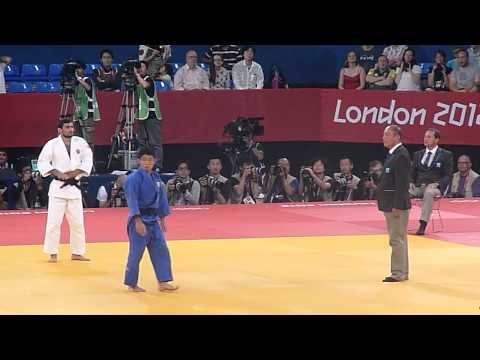 Olympic Judo London 2012 -60kg Final - Galstyan RUS bt Hiraoka JPN.mov