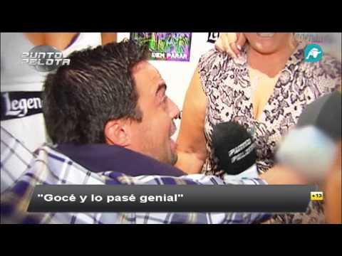 Nacho Peña, con la familia de Cristiano Ronaldo