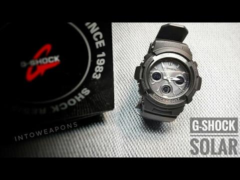 G-Shock Solar Watch Review - Casio AWGM100