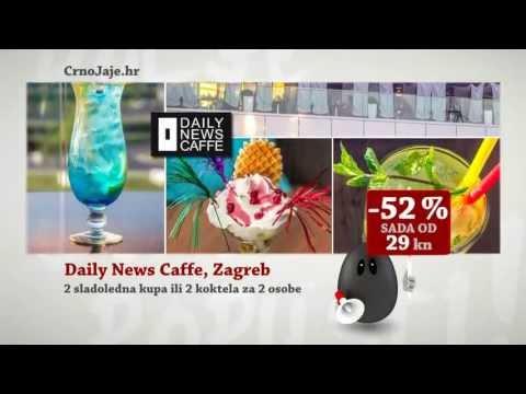 Crno Jaje - Višenamjenska haljina - Daily News Caffe Zagreb