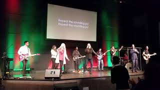 Joy to the world song at Resound Church Hillsboro
