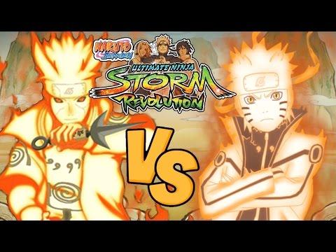 Naruto Shippuden Ultimate Ninja Storm Revolution: KCM Minato Vs KCM Naruto