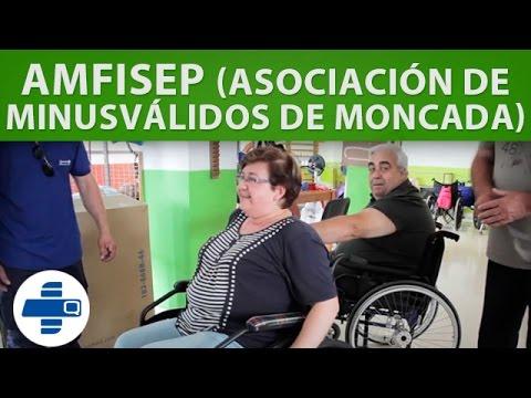 Quirumed visita AMFISEP (Asociación Minusválidos de Moncada)