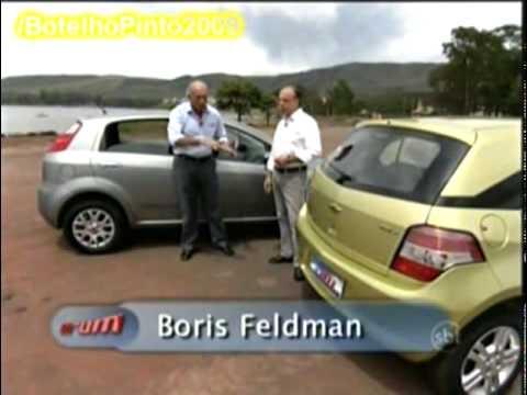 VRUM - Comparativo Chevrolet Agile VS Fiat Punto - 31-01-2010
