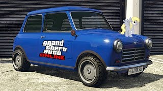 GRAND THEFT AUTO V PS4; EL MINI DE MR BEAN JEJEJE, CARRERA DOBLE XP & $