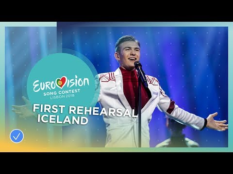 "Ari Ã""lafsson - Our Choice - First Rehearsal - Iceland - Eurovision 2018"