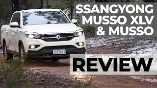 SsangYong Musso XLV and Musso 4WD Ute Review