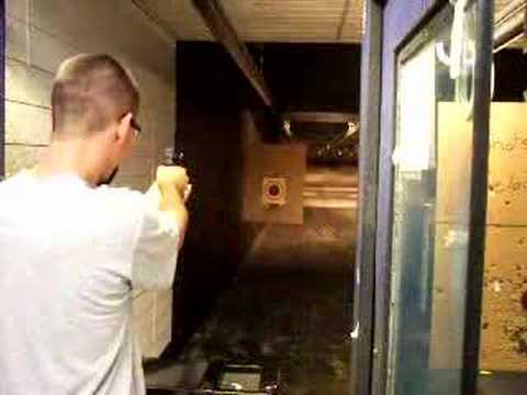 Me shooting friends FN 5.7mm pistol Video