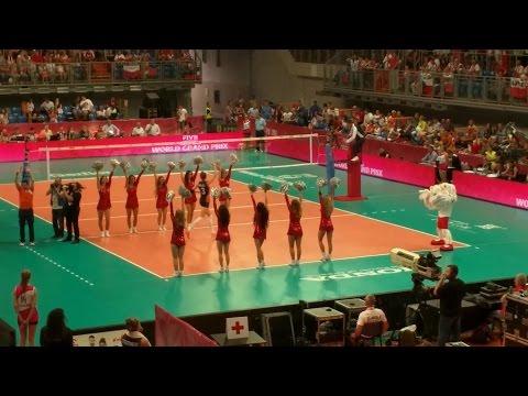 Reprezentacje Polski I Holandii - Prezentacja (siatkówka Kobiet)