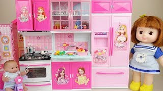 Baby doll kitchen surprise egg and house play baby Doli