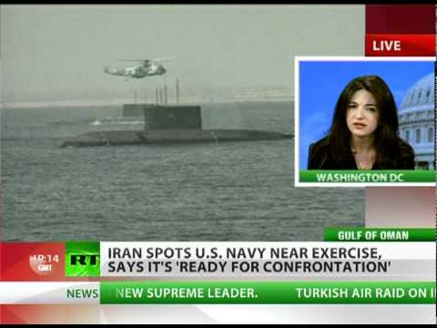Iran spots US Navy near drill, 'ready for confrontation'