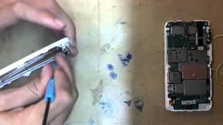 RAZR D3 XT919 XT920 desmontando trocando a lente touch  vidro