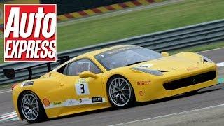 Ferrari 458 Challenge Evoluzione vs 458 Speciale on track