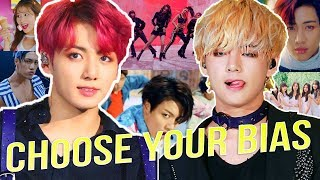 THE HARDEST KPOP GAME: CHOOSE ONLY ONE BIAS BY GROUP