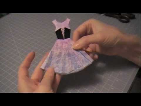 Paper Couture 3: Halloween Witch Paper Dress