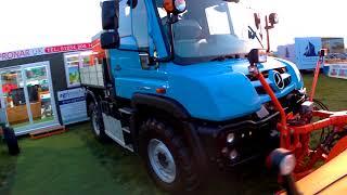 2017 Mercedes-Benz Unimog U218 4-Cyl Diesel 4x4 Truck With Snowplough