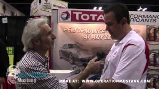 The Doc talks to Total Lube at AutoWares Show