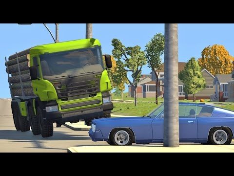BeamNG Drive REALISTIC HIGH SPEED CRASHES #58