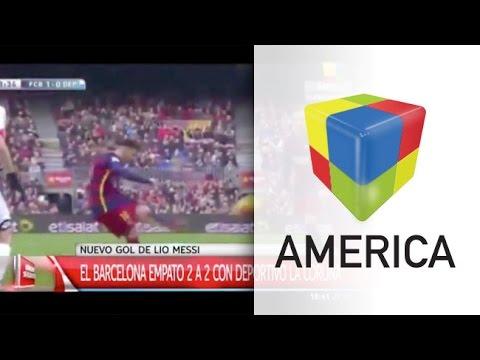 Atento, Gallardo: en la previa de Japón, Barcelona igualó 2-2 con La Coruña