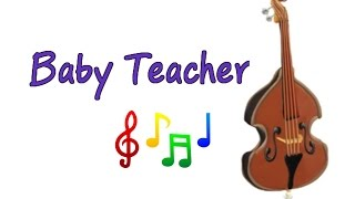 Musical Instruments Sounds for Kids – DOUBLE BASS | MusicMakers Episode 10 - From Baby Teacher