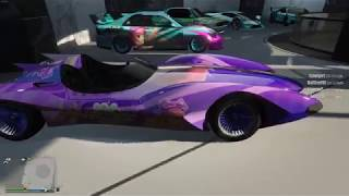 New ANIME Scramjet car in Grand Theft Auto V