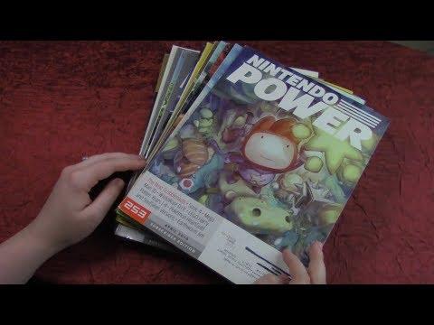 ASMR Nintendo Power Magazines (Whispered)