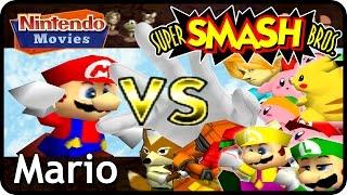 Super Smash Bros. - Adventure Mario
