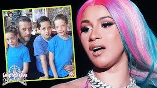 Cardi B is beefing with 10-year-old rappers (Z N8tion) | Cardi goes off on their parents!