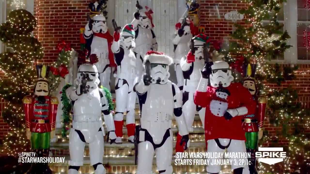 SPIKE TV STAR WARS HOLIDAY COMMERCIAL YouTube