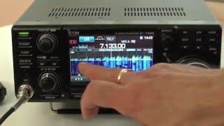 Introduction to the Icom IC-7300 HF/50/70MHz Transceiver