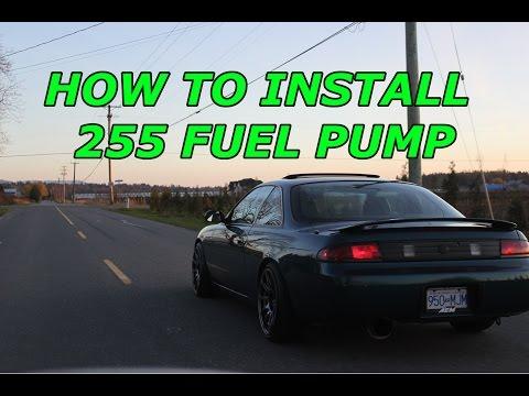 240SX S14 Build EP.8 255 Fuel Pump Install