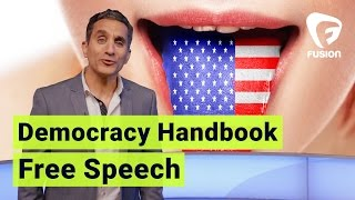 It's a Free-Speech Country • Democracy Handbook with Bassem Youssef Ep.7