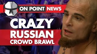 Crazy Brawl After MMA Fight, Winkeljohn Calls Cerrone 'Cancer', Tuli Talks UFC 1